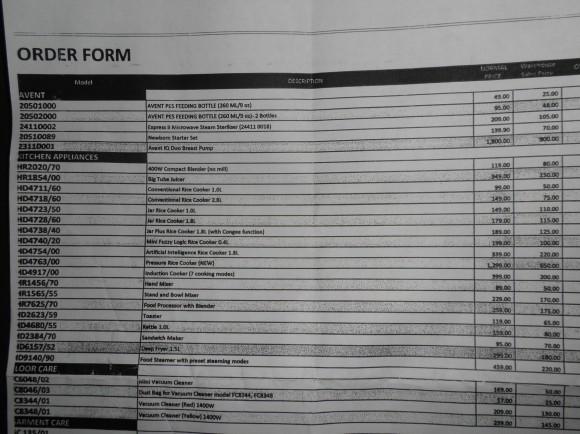 order form 1