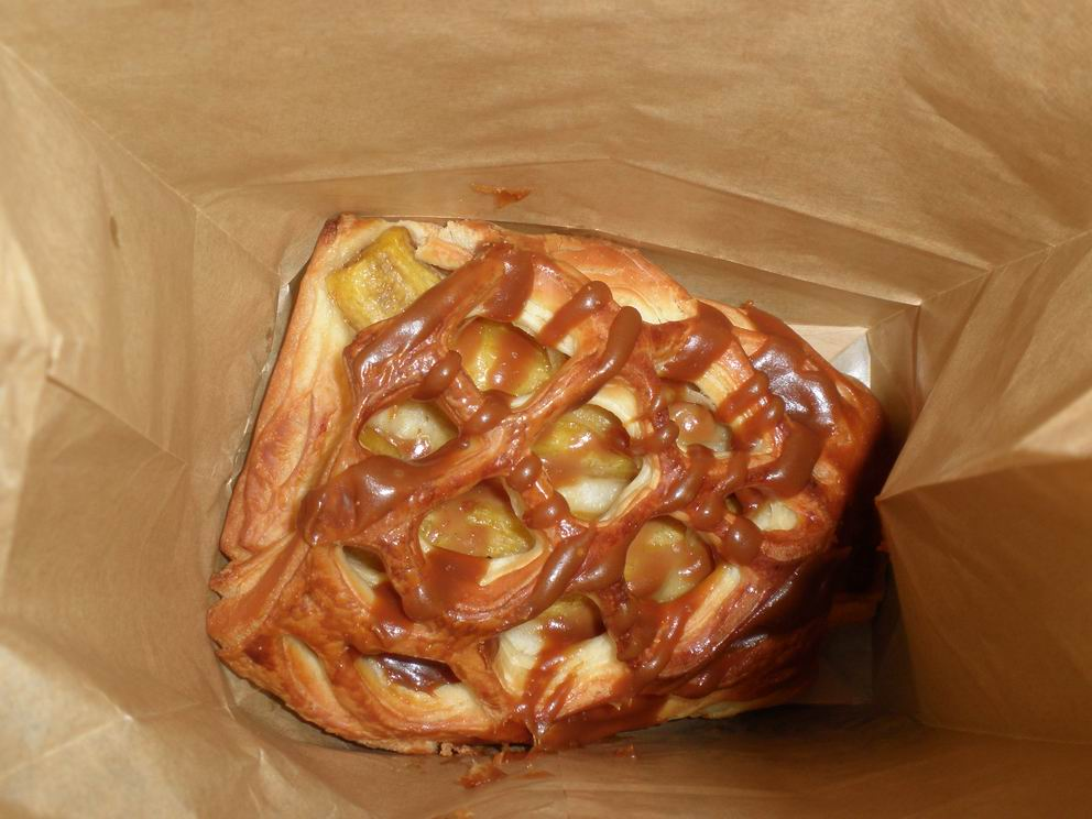 Banana Butterscotch Danish