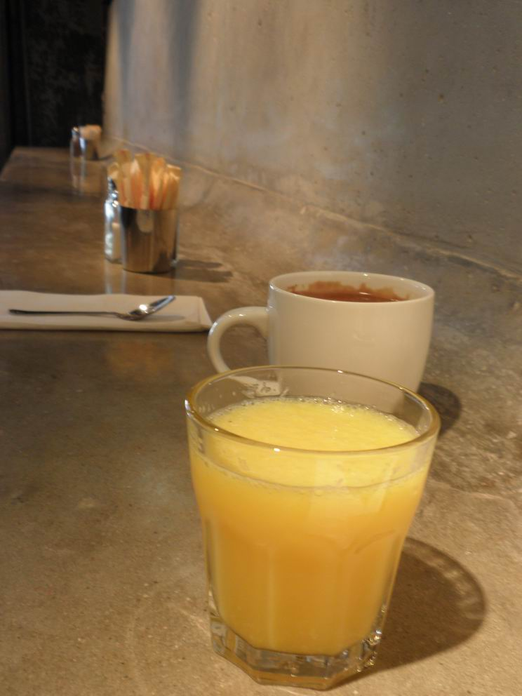 Coffee and OJ